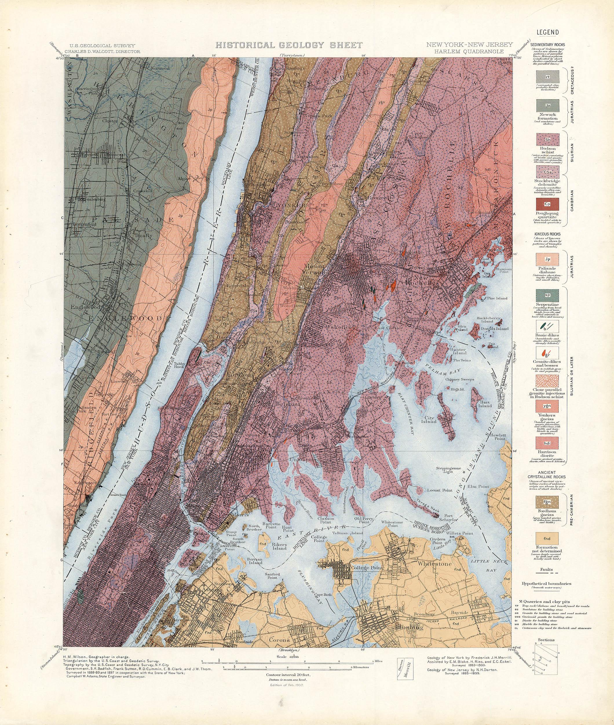 NYC An Historical Atlas Of New York City - Us map harlem
