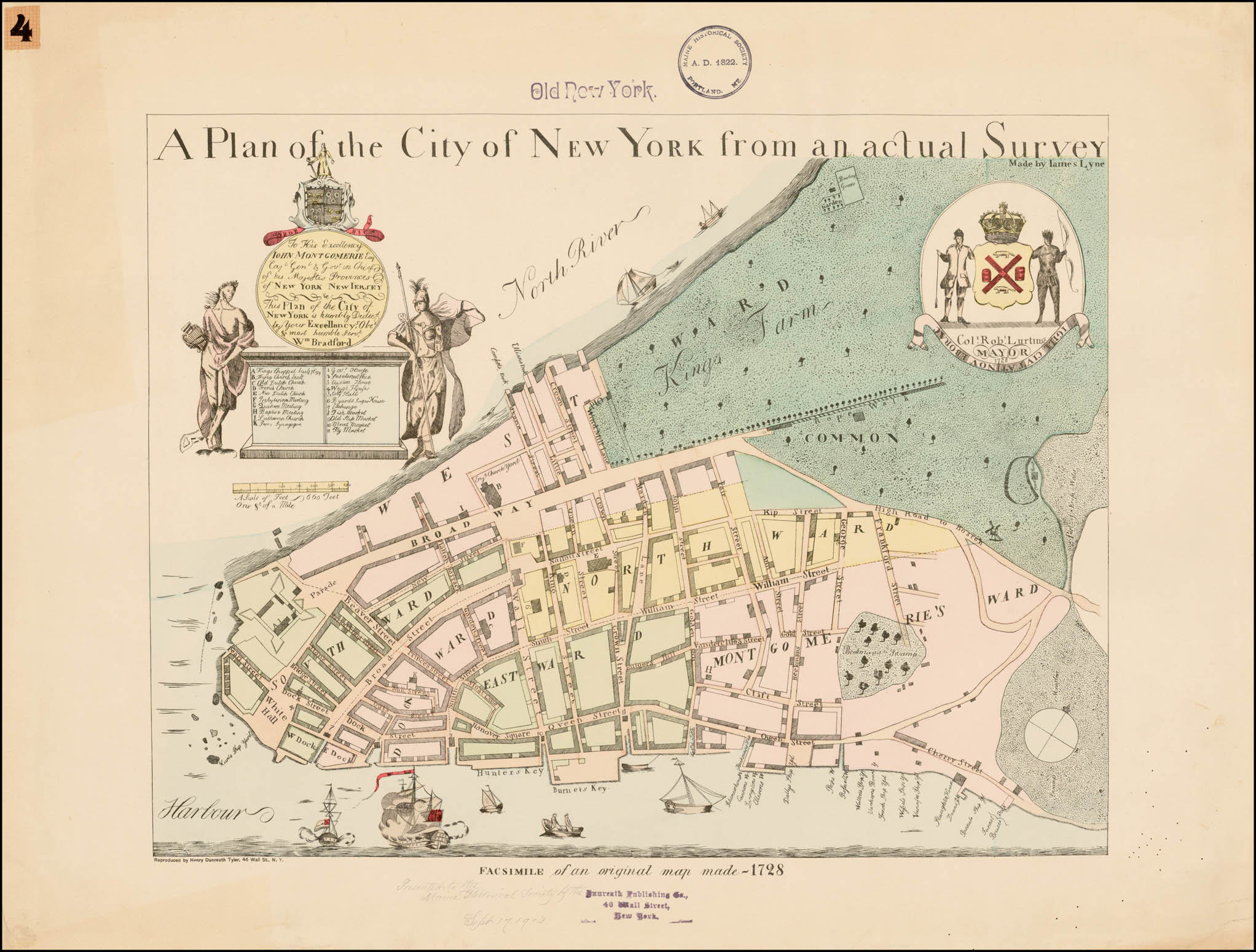 NYC 99 an Historical Atlas of New York City